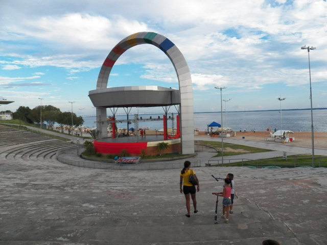 A photograph of the environs of Ponta Negra - Beach and Recreation Center - Manaus, Amazonas, Brazil - Photo taken by Patrick Carpen around May 2016.