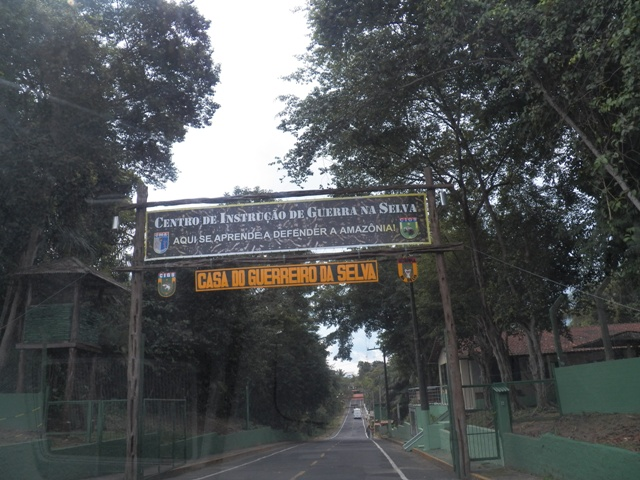 The entry to the zoo in Manaus, Amazonas, Brazil. Photograph taken by Patrick Carpen around May, 2016.