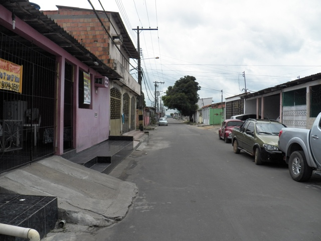A Photograph of a street in one of the middle-class neighborhoods in Manaus, Amazonas, Brazil - taken by Patrick Carpen.