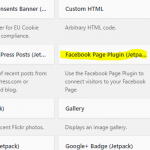Integrating a Facebook Page Into Your WordPress Website