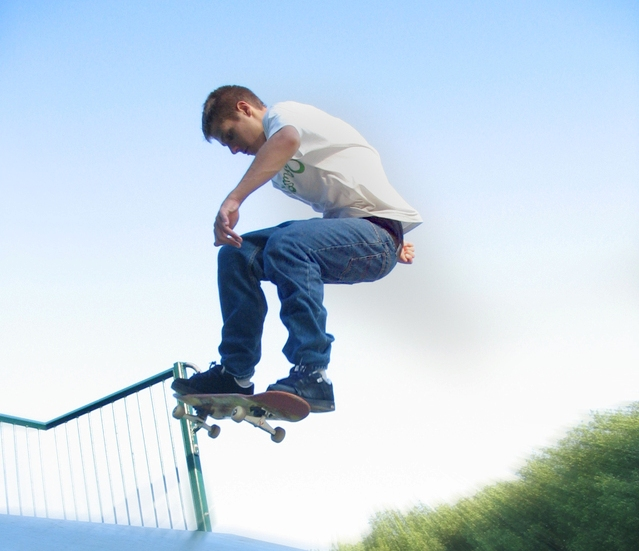 "Do you have a ""dynamic"" personality? Photo Thanks To: http://www.freeimages.com/photo/skateboarding-1450772"