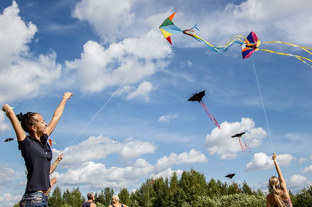 kite flying for Jesus - anyone?