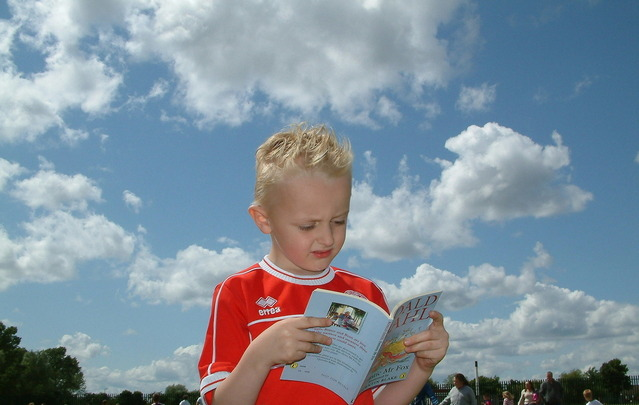 The Little Boy Who Wouldn't Read