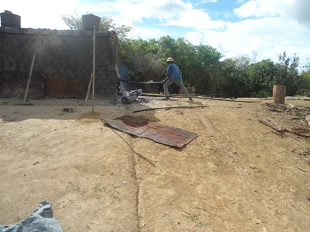 Stoking the Furnace - Delivery Heat to the Walls of Clay Blocks