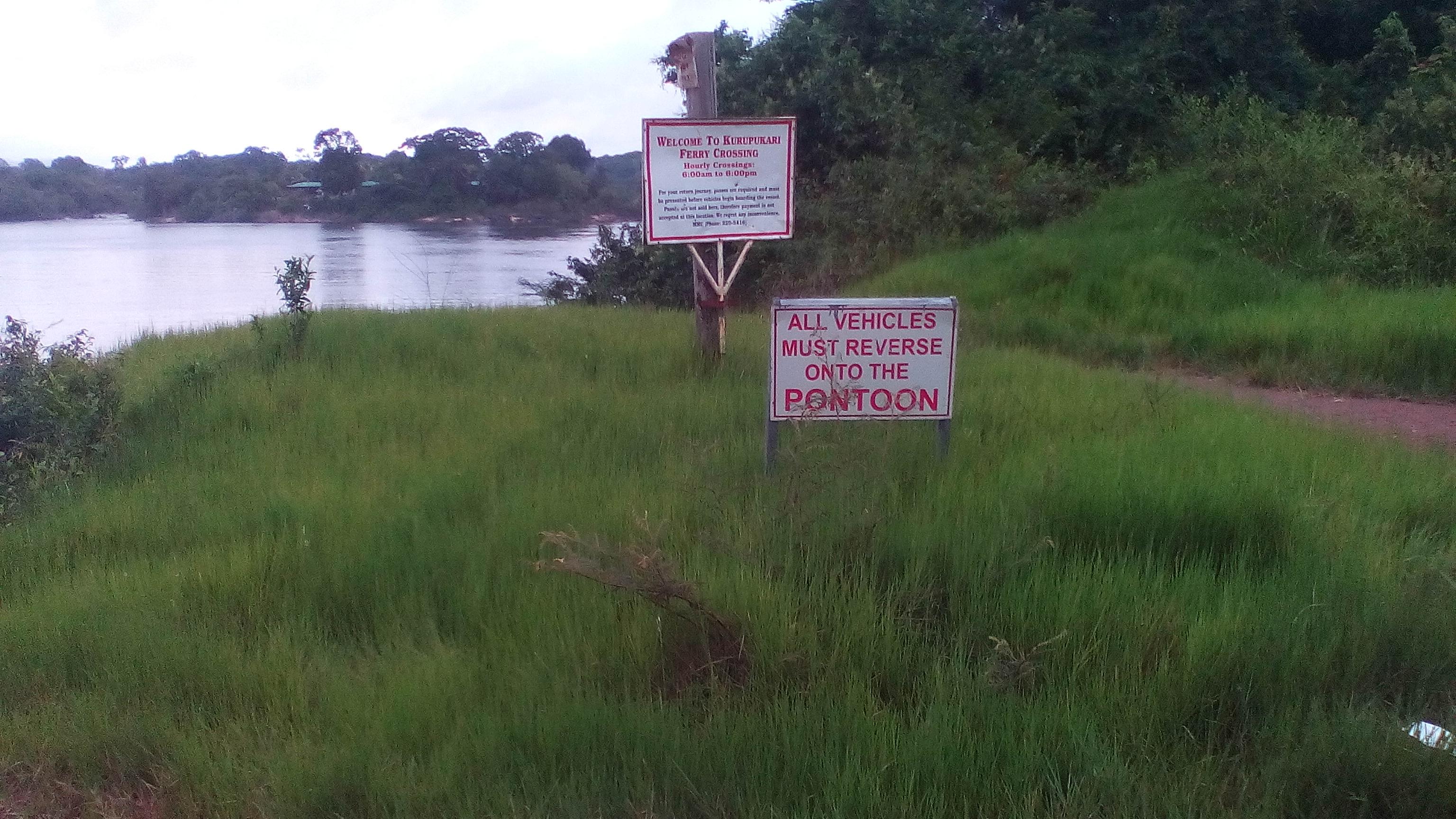 The Kurupukari Crossing – Essequibo River – Over 100 Pictures