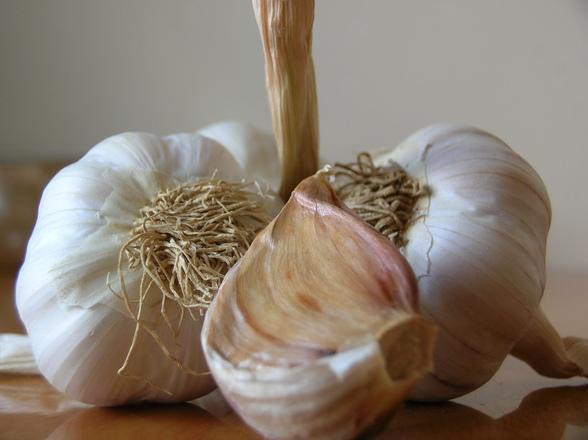 Garlic Cures The Flu