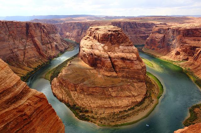 A River Cuts Through a Rock…